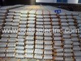The part of workshop of ceramic insulator