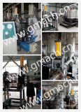 Plate type hydraulic screen changer applied for the corrguated pipe extrusion machine