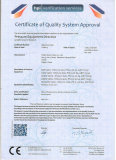CE Certificate Of Tianjin Exxon Valve CO.,LTD.