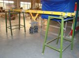 Loading test of fiberglass straight ladder