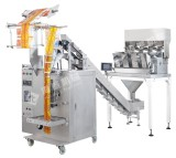 VFFS solid food packing machine with 4 heads weigher