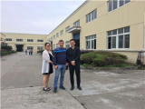 Customers come to our factory