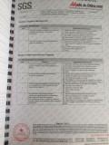 SGS testing report5