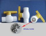 New type PPR plastic ball valve
