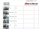 SGS sertification of yibao machine