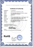 Rohs certification for solar junction box
