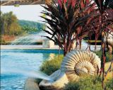Garden sculpture fountain