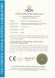 CE certificate for sanitary pump