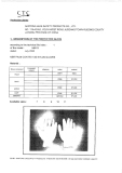 Certificates For Nitrile Coated Glove