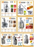 All products for vertical packing machines