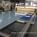 PVC foam board machine producing