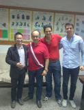 The customer from Mexico visit our company
