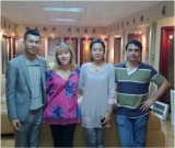 Our Sales Manager Mr. William Joo receives the Spanish customers Mr. Carol