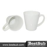 BestSub Cone-shaped 12oz Latte Mug
