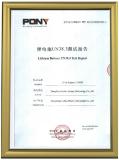 Lithium test report