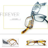 R-1695 2014 wenzhou Popular big size plastic folding reading glasses meet CE,FDA