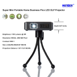 Super Mini Portable Home Business Pico LED DLP Projector