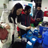 Indian Client Visit our Factory