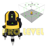 Self-Leveling Multi-Line 4V1H1D Green Laser Level(EK-411G)