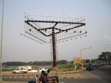 Three Sided Outdoor Billboard Project in Togo