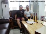 Yemen client -- Power Inverter order visit--2014.10.9