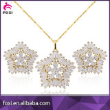 aaaaa zirconia factory wholesale price jewelry set