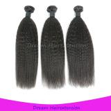 Grade 8A no shedding No tangle virgin hair weft kinky straight