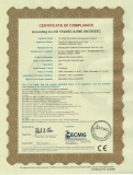 CE Certificate for Fusion splicer