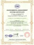 ISO14001-2004 Certificates