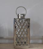Set of Modern Design Stainless Steel Lantern