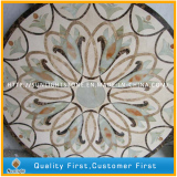 Natural Marble Water jet medallion Pattern