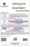 CE certificate for PLASTIC MIXING UNIT