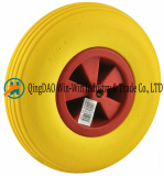 Our factory mainly produce all kinds of rubber tyres and PU foam wheels
