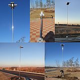 Road Smart Integrated New Solar Nighthawk Light In Korea SC-NH65