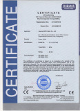 ce certificate for power cable