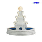 Large Home & Garden Decoration LED Lighting Sandstone Water Fountain