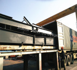 Steel structure parts packing load to container