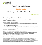Yuanli After-sale Services