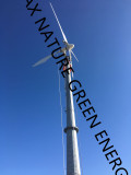 10m Free Stand Tower for 5kw-30kw Wind Turbines