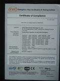CE Certificate of Motor