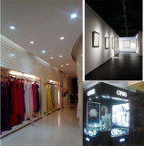 LED Light Application in jewelry store, clothes market and exhibitions