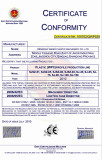 CE certificate for WPC profile/board machines