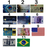 Waterproof U Disk Flash Card 32GB/16GB/8GB Bank Credit Card