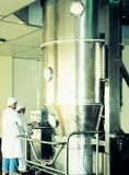 Running Operation of Our Fluid Bed Processor in The Pharmaceutical Factory