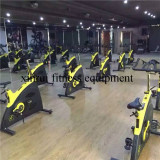 spinning bike of the gym