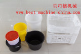 plastic from small volume to large volume bucket and basket sample products