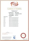 SAA certificate for LED Flood Light