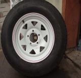 complete trailer wheel