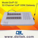 32 Port GSM Gateway GoIP VoIP Device Support VPN ,VOS