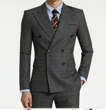 Men′s classic wool suit